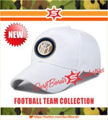 HEMAT Topi Baseball Bordir Intermilan Pria Wanita Putih Series 90e68ec56f