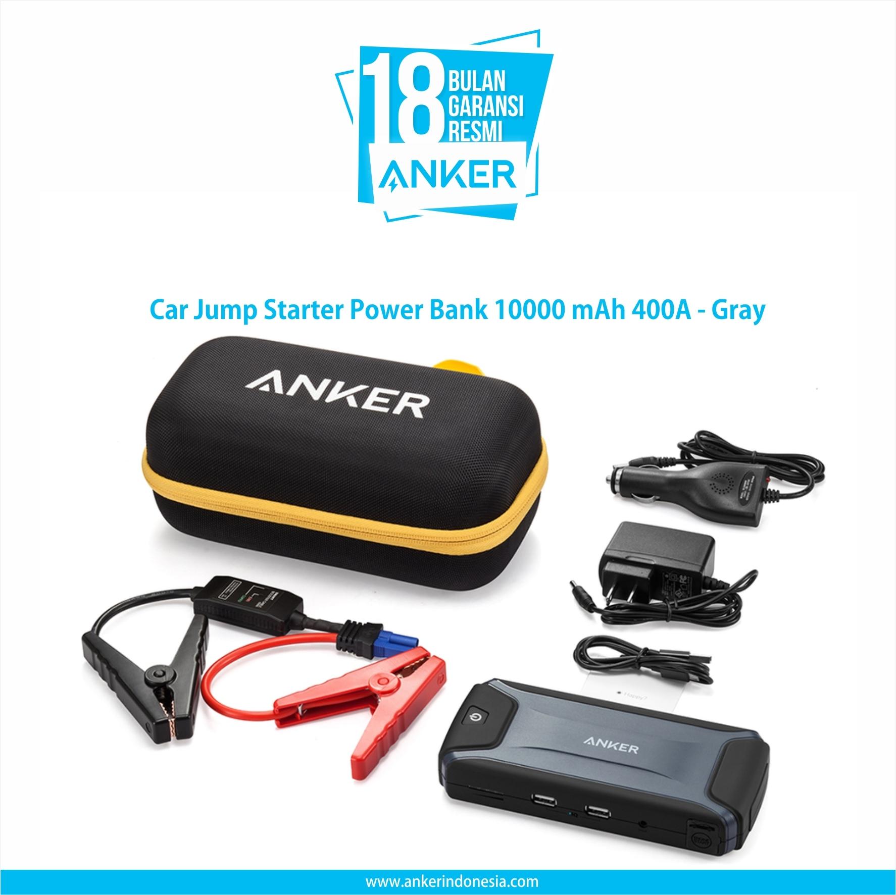 Anker Astro E3 10000mah Hitam Daftar Harga Terlengkap Indonesia Black Car Jump Starter Power Bank 37wh 400a Gray A1501211