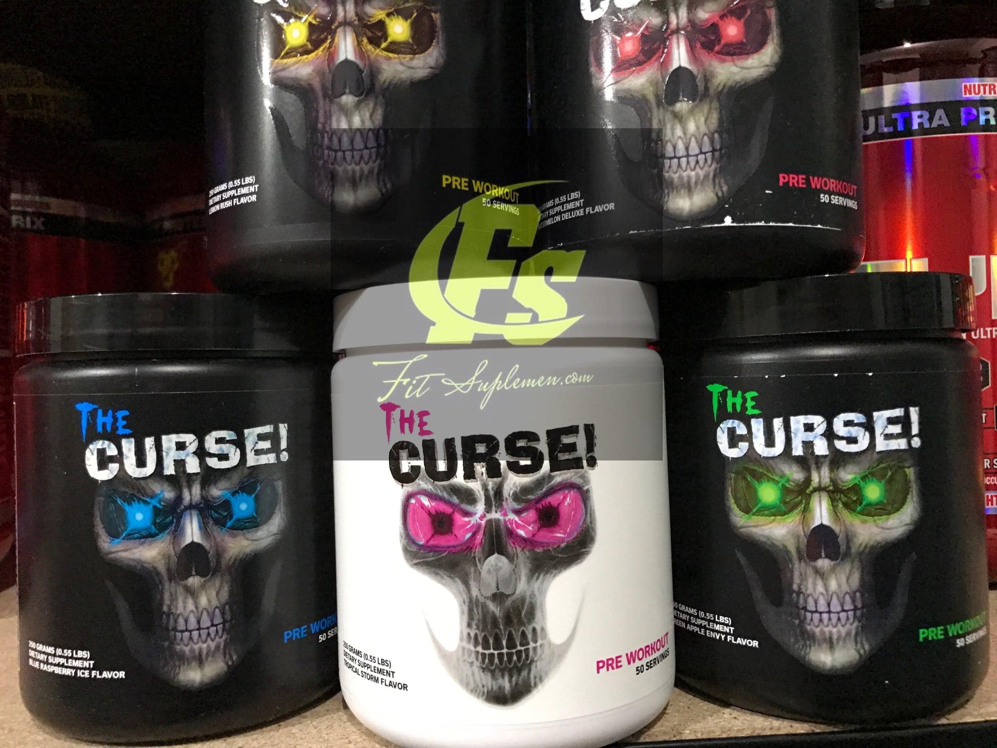 Jual The Curse 50 Servings Thecurse 50serving Pre Workout Cobra Labs Suplemen Cobralabs Pwo Fit Tokopedia
