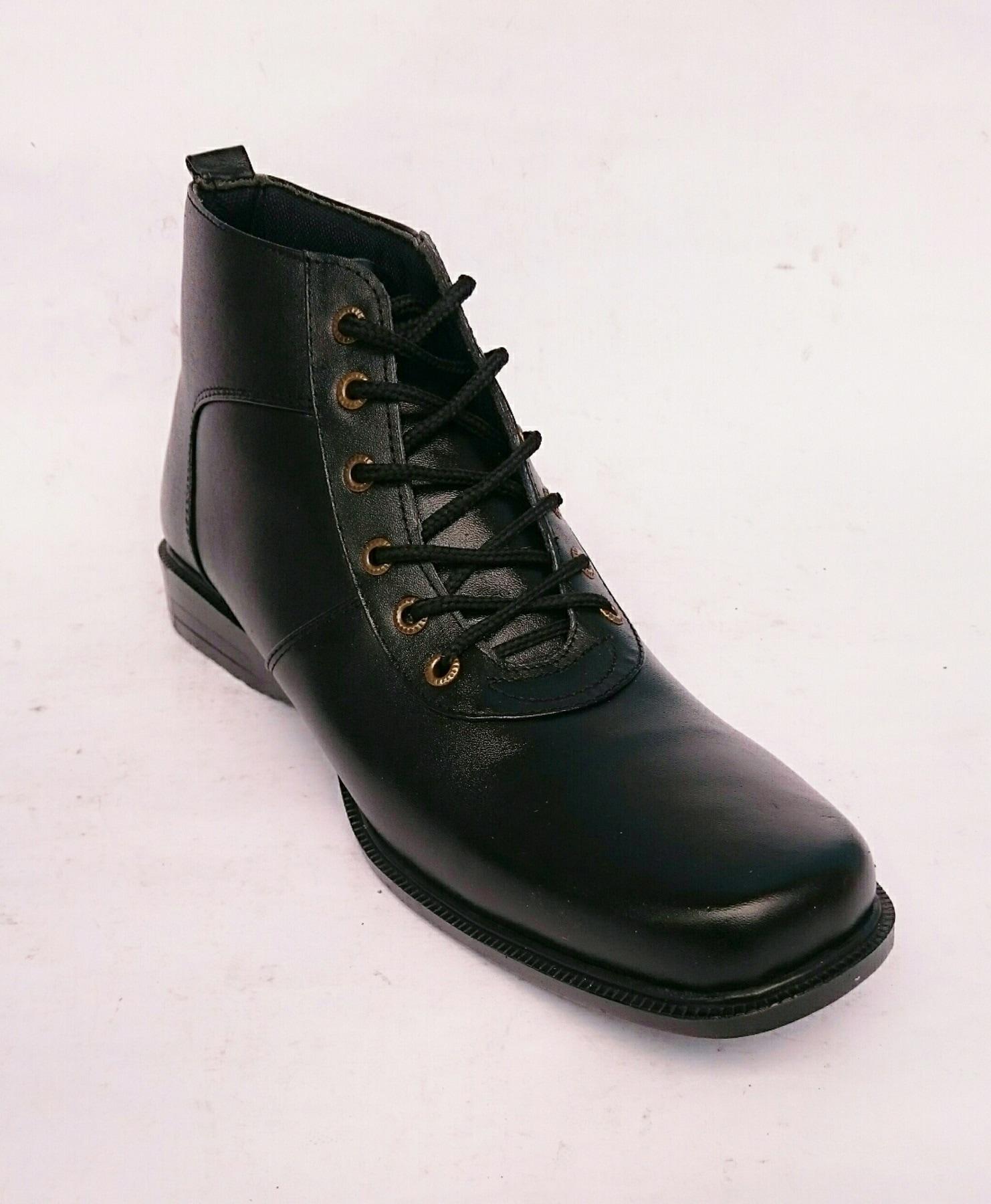 harga Rasheda Sepatu Pdh Boot Pria Formal Kulit Asli K 16 Blanja.com