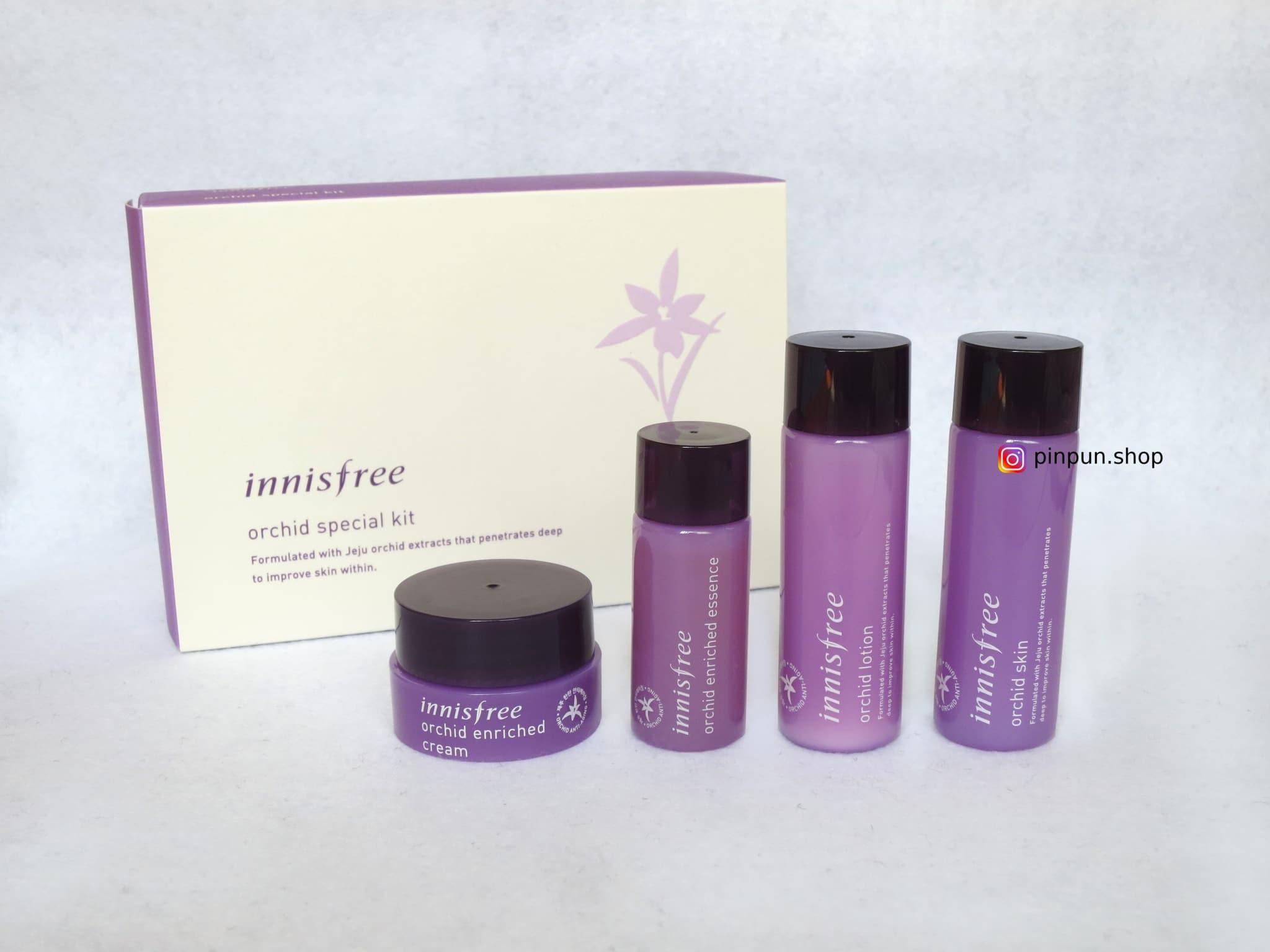 Jual Innisfree Orchid Special Kit 4 Items Pinpunshop Tokopedia Skin