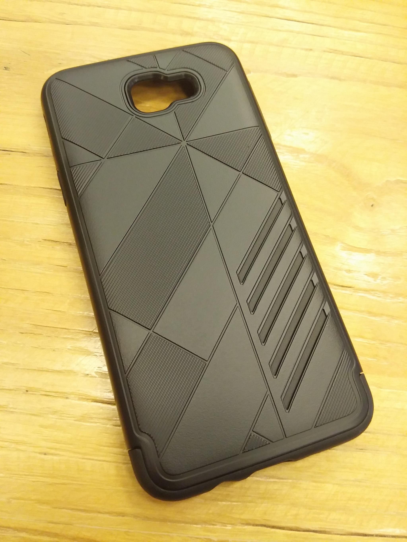Samsung A5 2017 Shark Stripe Elegant Dual Layer Armor Case
