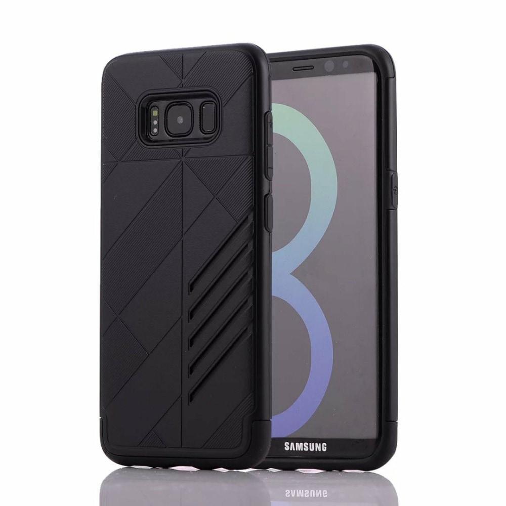 Samsung Galaxy S8 Plus Shark Stripe Elegant Dual Layer Armor Case