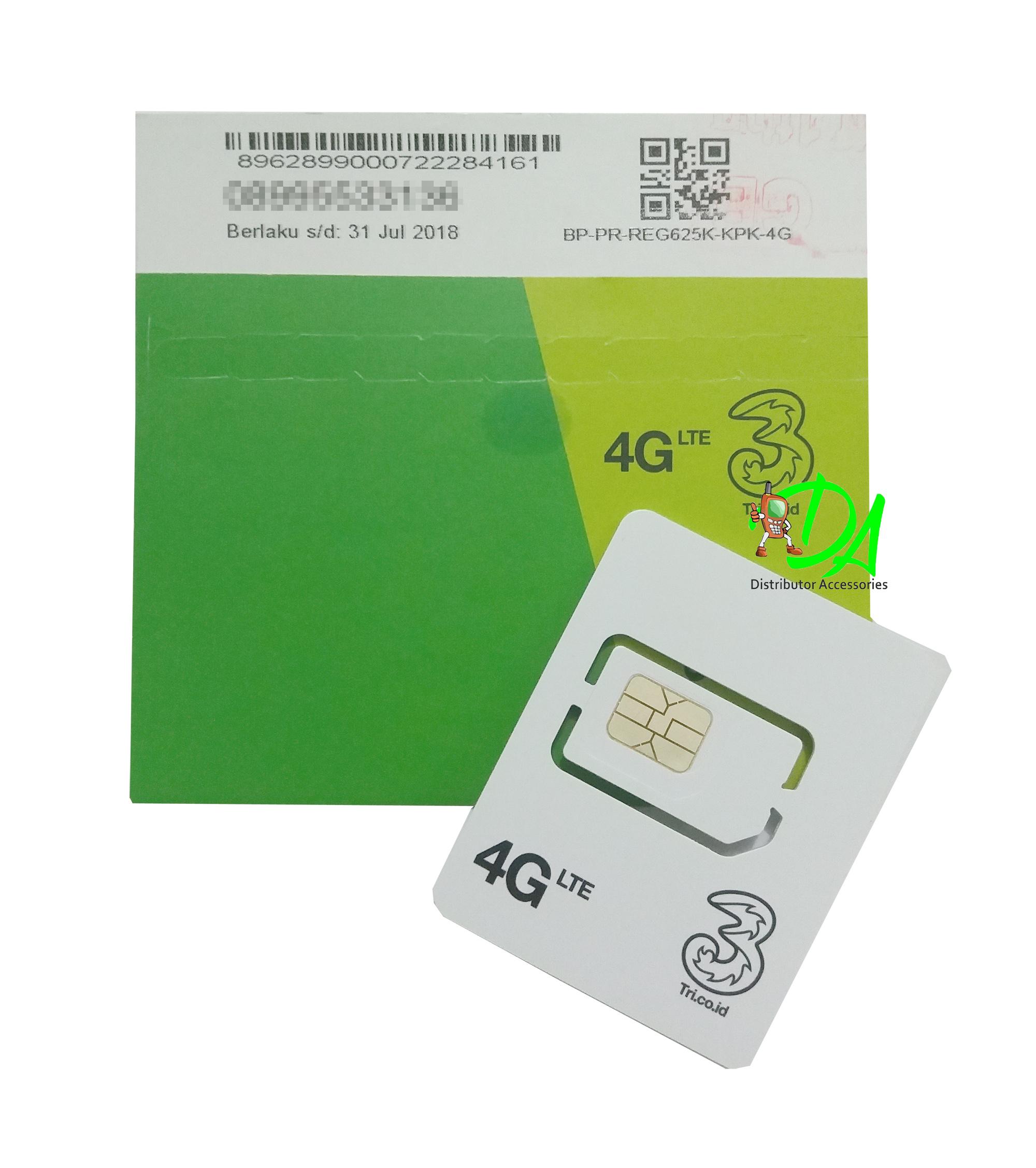 Jual Perdana Tri Aon 1gb Reguler 24 Jam Pm1 Total Kuota Kartu Data Distributor Asesoris Hp Tokopedia