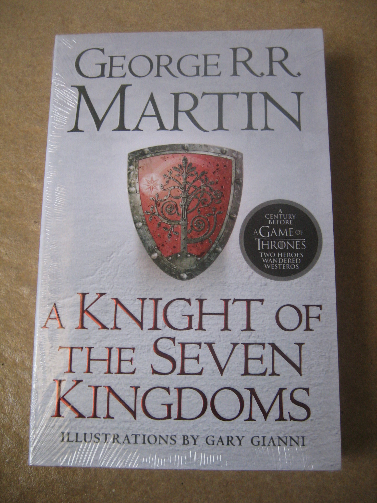 Jual George R Martin A Knight Of The Seven Kingdoms Rr Gregstore Tokopedia