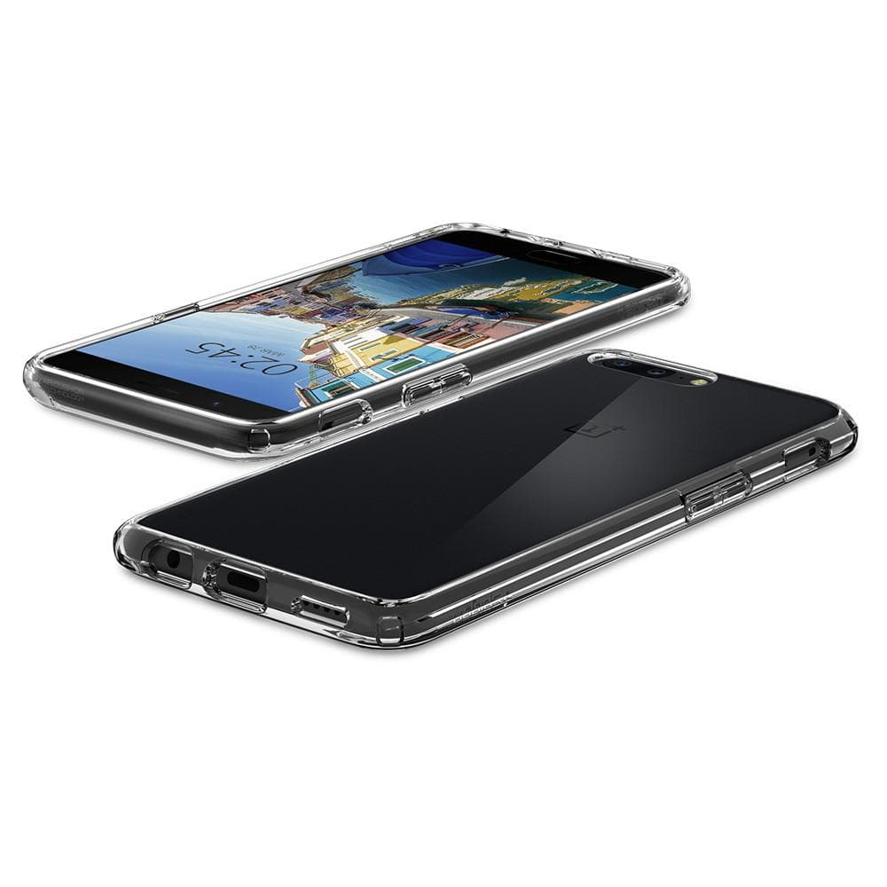 Spigen Oneplus 5 Case Ultra Hybrid Clear