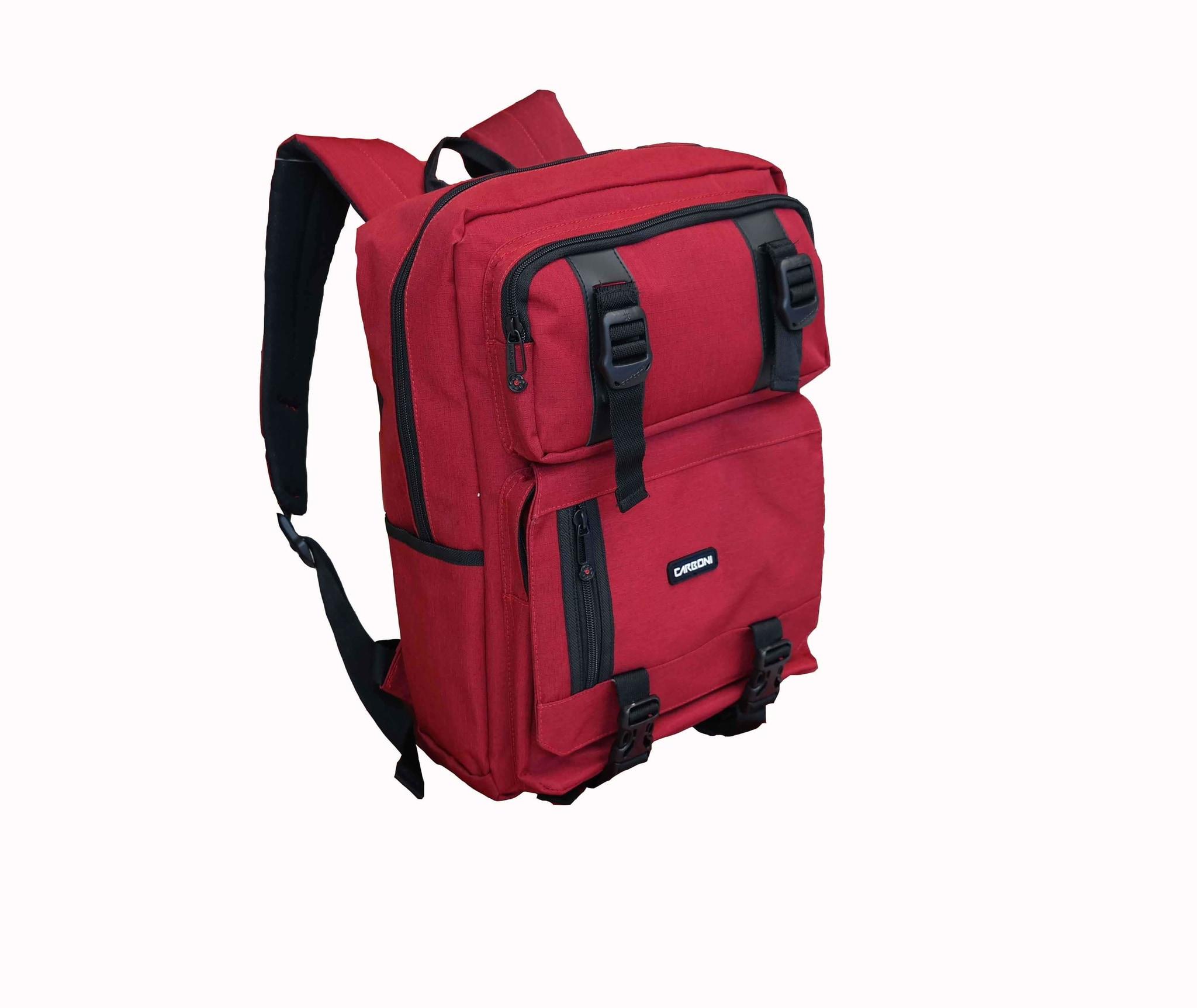 Backpak Tas Ransel Laptop CARBONI MA00090 RED - Blanja.com