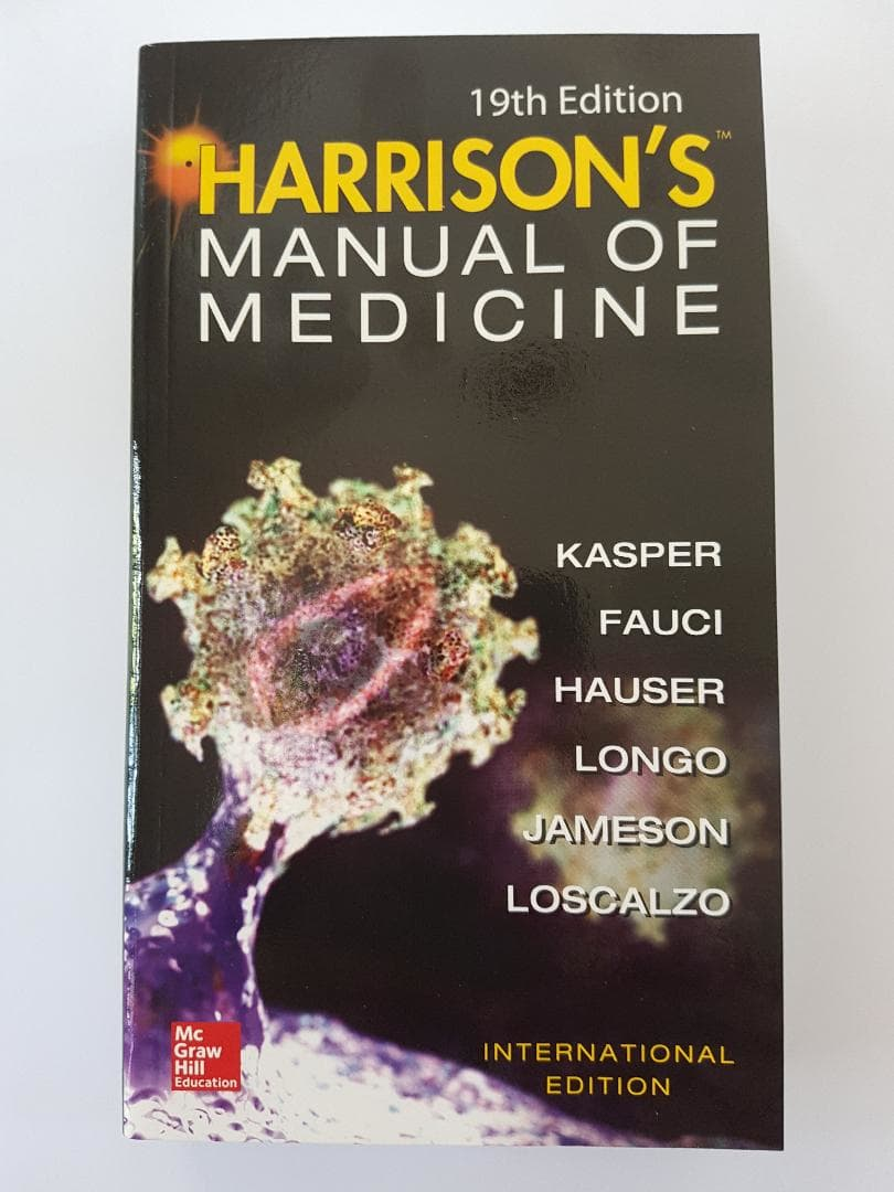 [ORIGINAL] Harrison Manual of Medicine 19e - Kasper