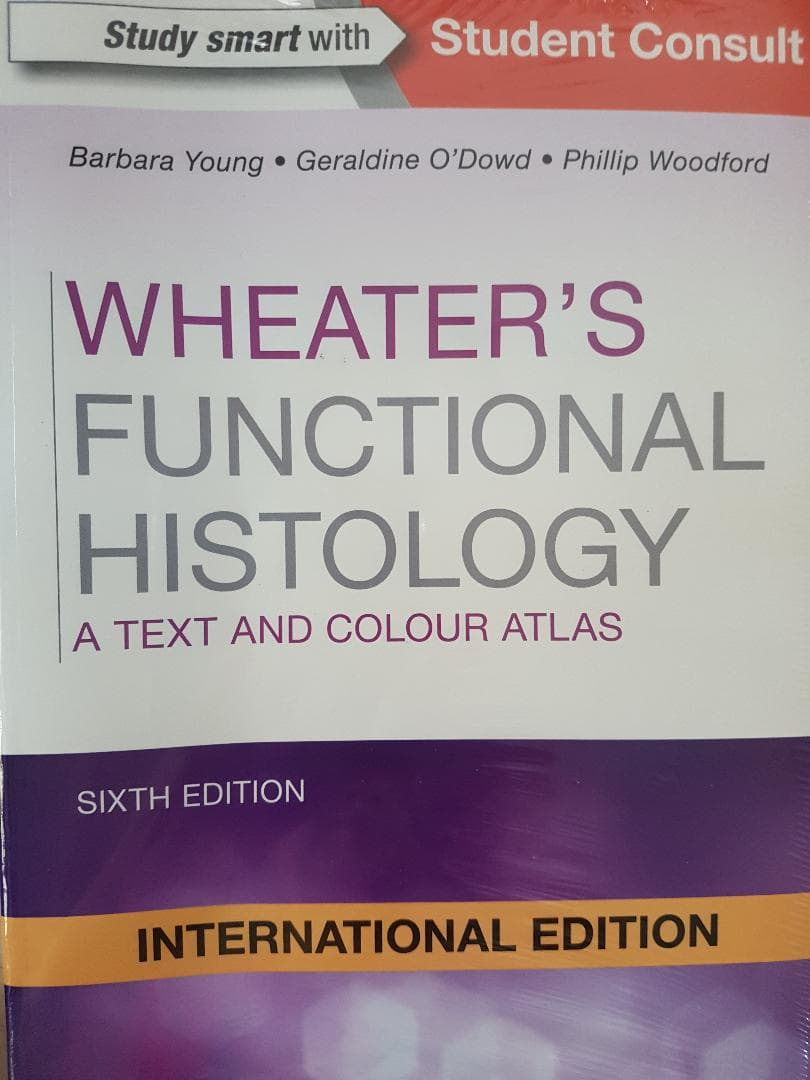 [ORIGINAL] Wheater's Functional Histology , a text and colour atlas 6e