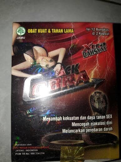 kapsul black cobra ORIGINAL !!