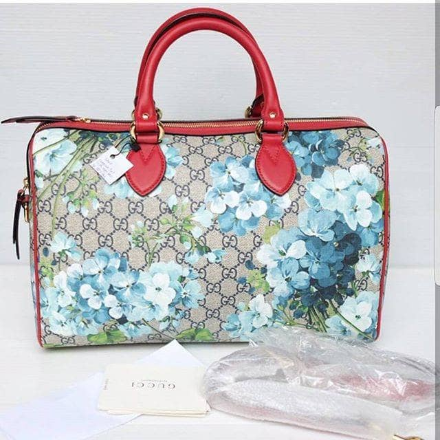 Jual Tas Wanita Gucci Blooms Canvas Original Authentic Asli  01c717ac13