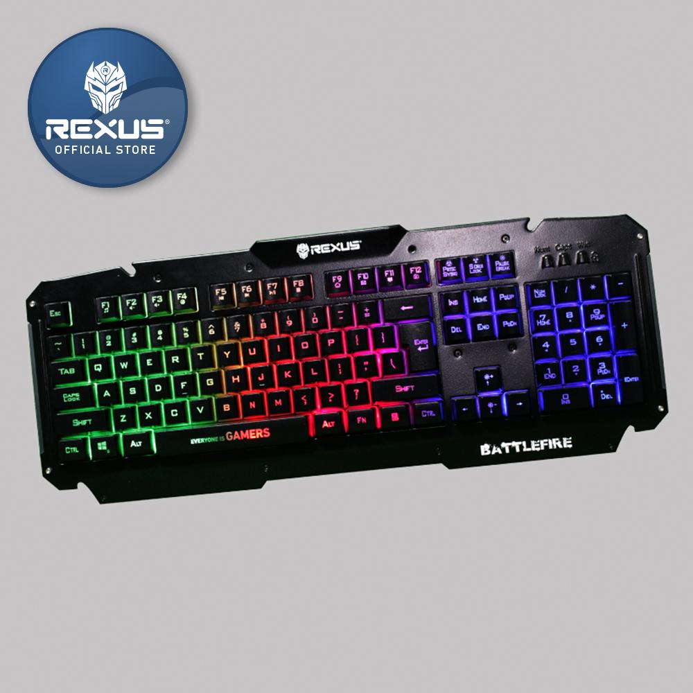 Rexus Keyboard Gaming Battlefire K9d - Blanja.com
