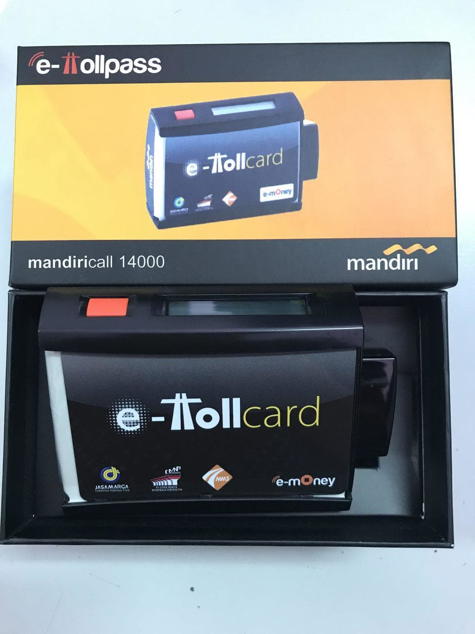 Mandiri E Toll Pass On Board Unit / OBU Mandiri SKU#29782 - Blanja.com