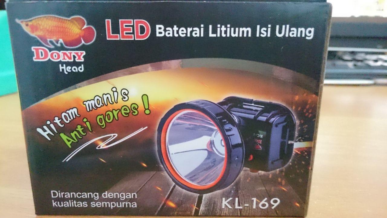 Jual Dony Head Led Kl 169 Hitam Lampu Putih Kuning Senter Kepala Manis Anti Gores Berkah Mulia Sukabumi Tokopedia