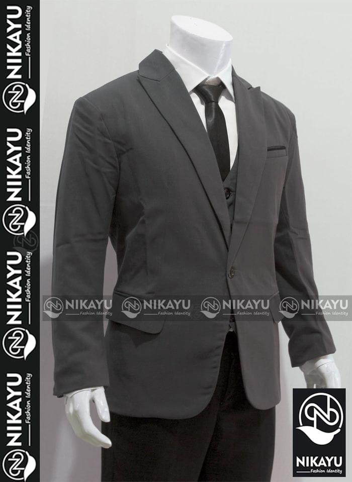 Blazer Pria RAMOS PREMIUM - Jas Pria Slimfit Korea Style semi Wool