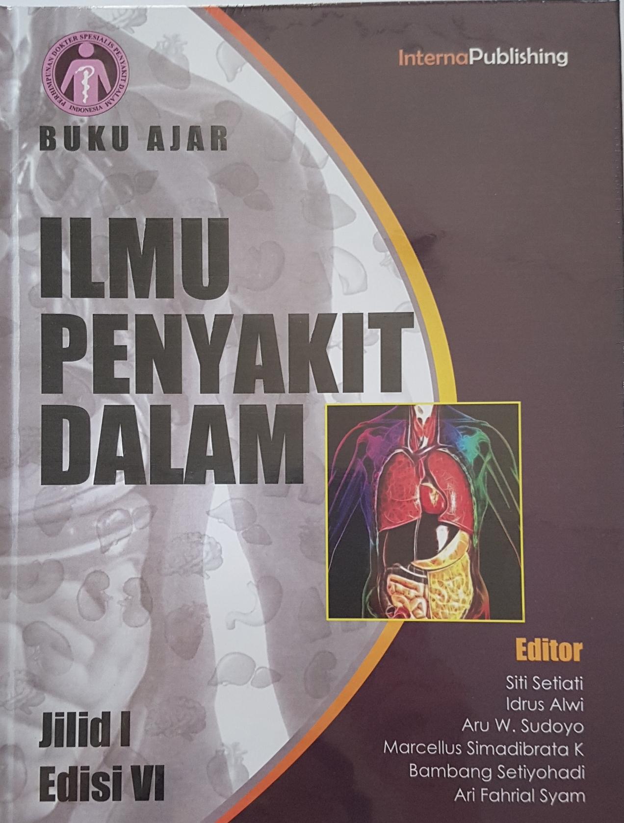 Buku Ajar Ilmu Penyakit Dalam Ed 6 (Jilid 1, 2, 3) ORIGINAL TERMURAH