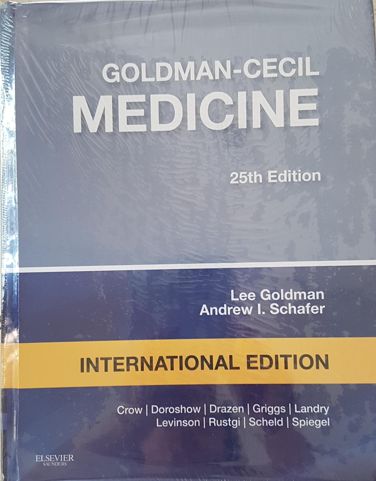 [ORIGINAL] Goldman-Cecil Medicine 25e vol.1 dan 2