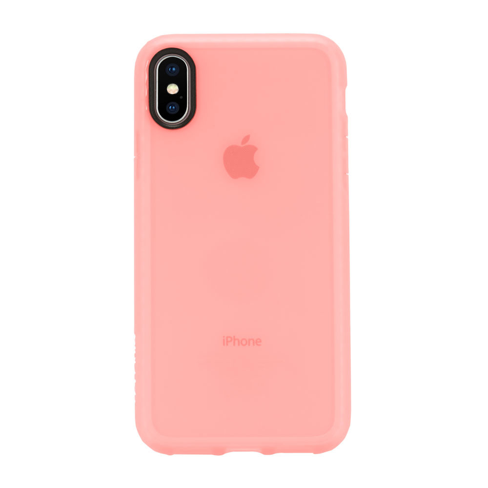 Incase Protective Lattice Cover for iPhone X Coral - Blanja.com