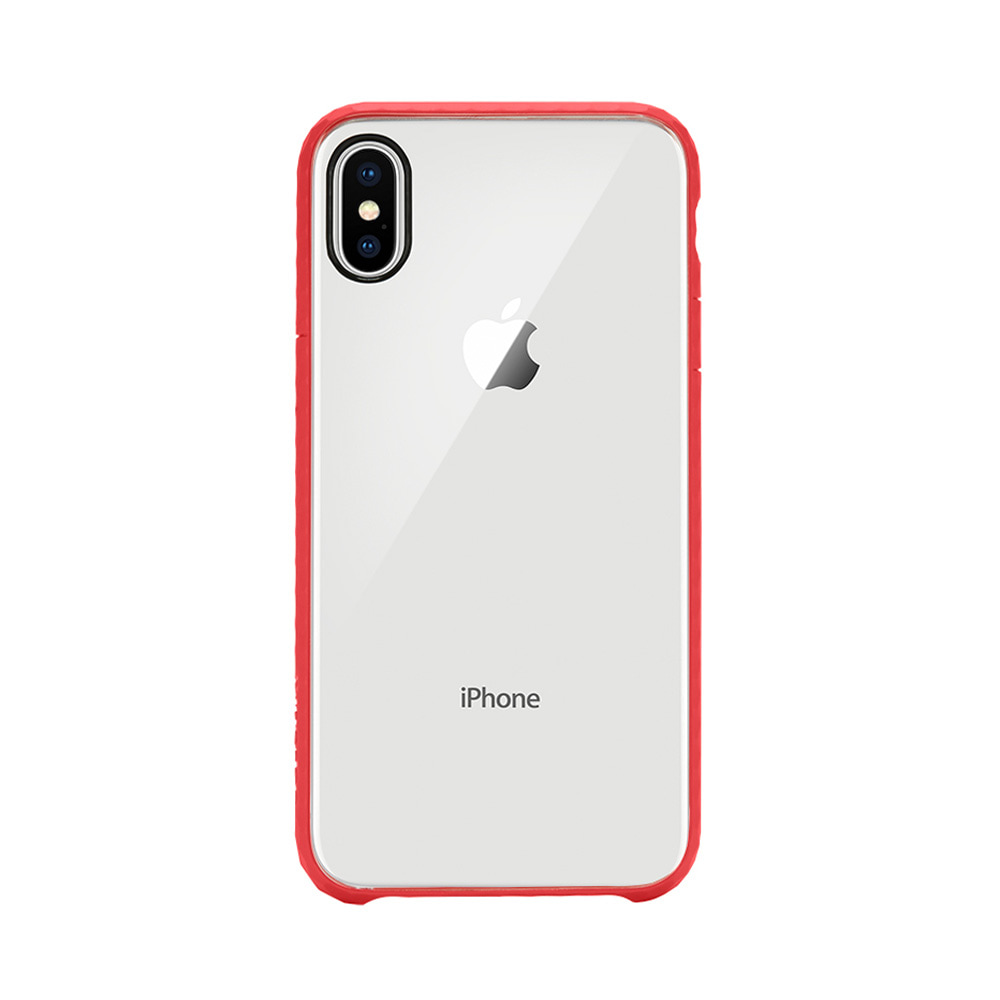 Incase Pop Case for iPhone X Clear Red - Blanja.com