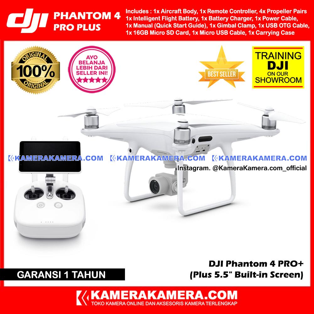Jual Dji Phantom 4 Pro Professional Plus 55 Built In Screen Bergaransi Resmi Original 100 Kamerakamera Tokopedia