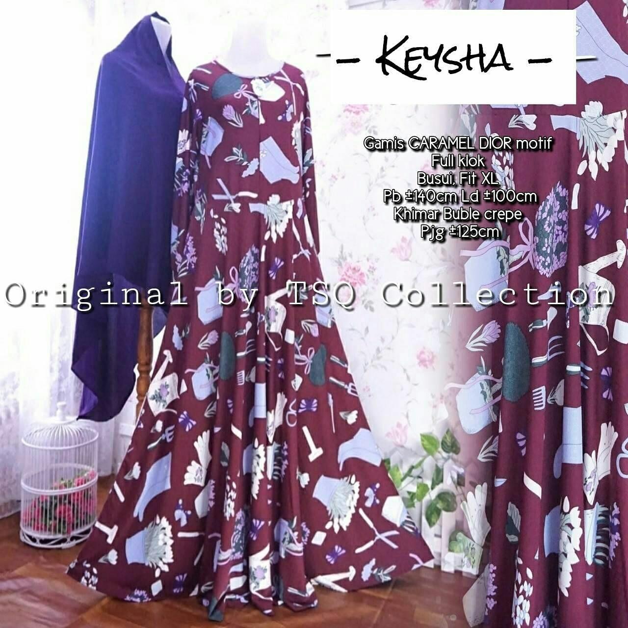 Jual baju muslim remaja keysha syari  baju muslim terbaru - Kota