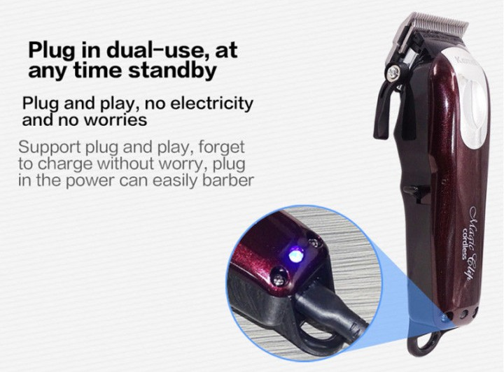 Kemei Km - 2600 Professional Rechargeable Electric Hair Clipper Cordless