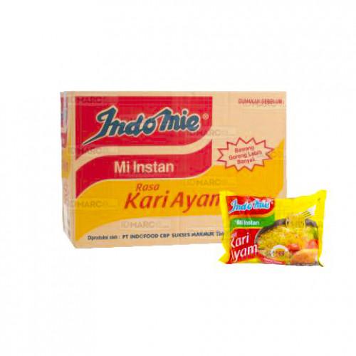 Indomie Kari Ayam Isi 40 Pcs - Blanja.com