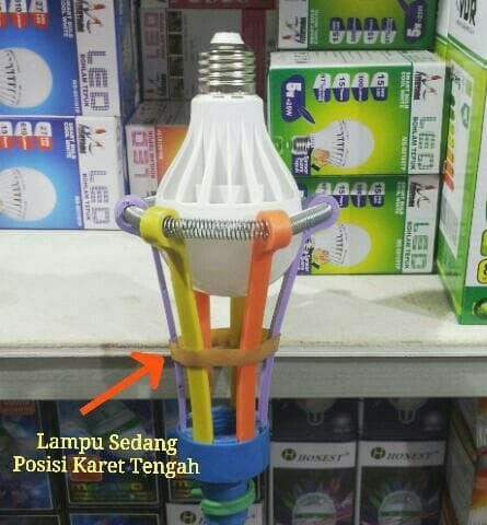 alat bantu pemasang lampu panjang tongkat multifungsi