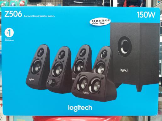 Jual LOGITECH Z506 SUROUND SOUND SPEAKER SYSTEM 5 1 - CLICK