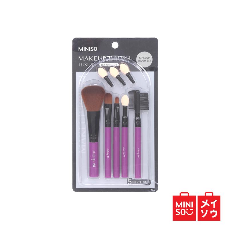 Miniso Official Luxury Makeup Brush 5-Piece Set (03MN-9511) thumbnail