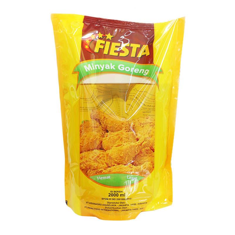 Fiesta Paket Minyak Goreng 2l/pouch (4 Pcs)-Free Ongkir Jabodetabek