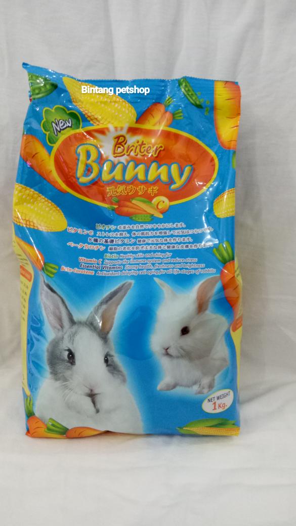 Makanan Kelinci/ Rabbit Food Briter Bunny Carrot 1 kg