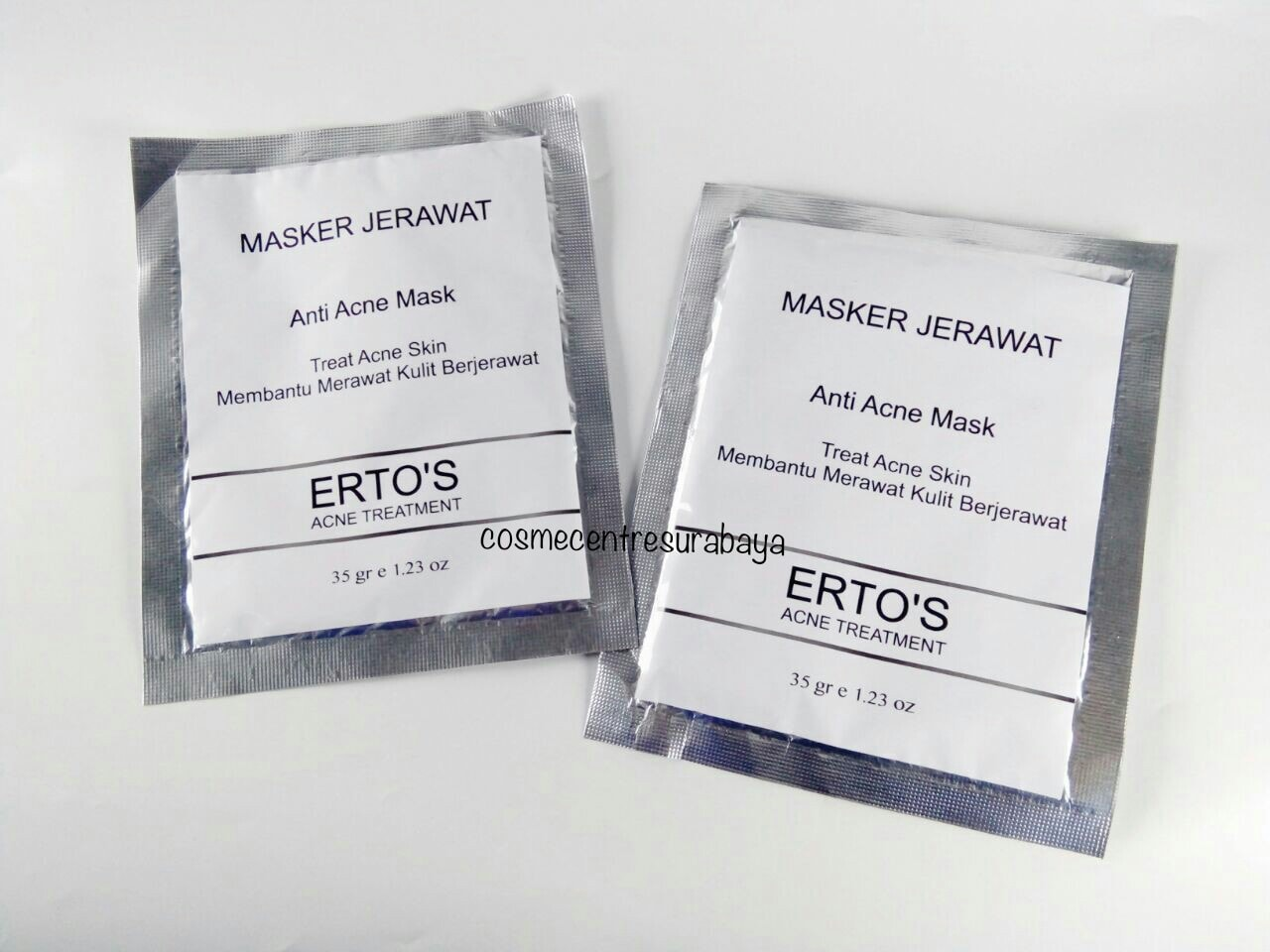 Jual Ertos Acne Treatment Masker Jerawat Bpom Cosme Centre Anti Mask By Surabaya Tokopedia