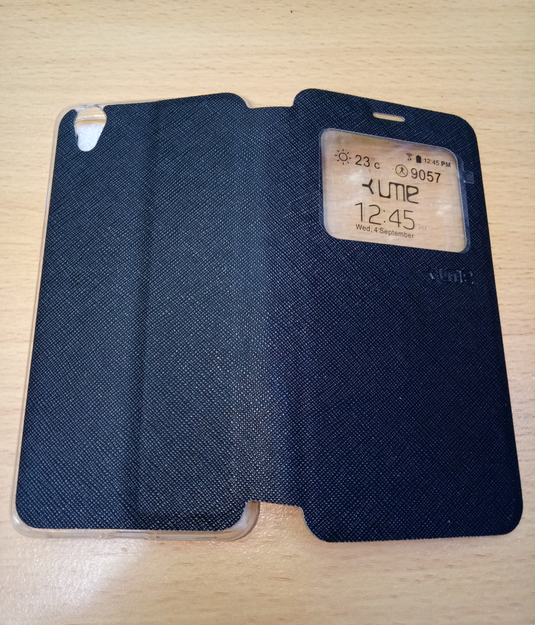 Jual Sarung buku flip cover Oppo A37 / Neo 9 - Ume Classic - Black Coffee