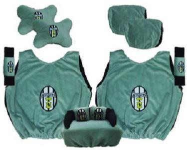 Bantal Mobil Juventus Paket Simple Sarung Jok
