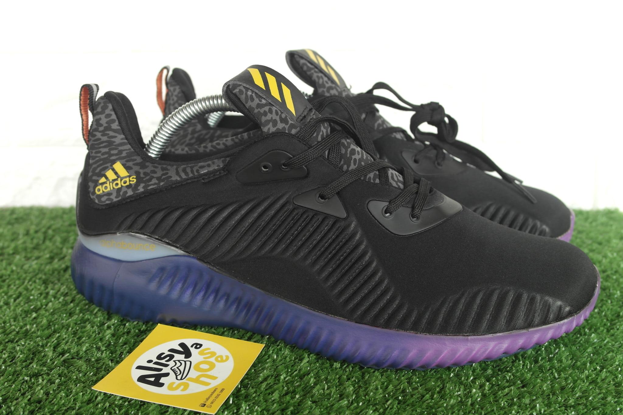 9d09ef6b5b686 Jual Sepatu Adidas Alphabounce Black Purple - Alisyashoes ...