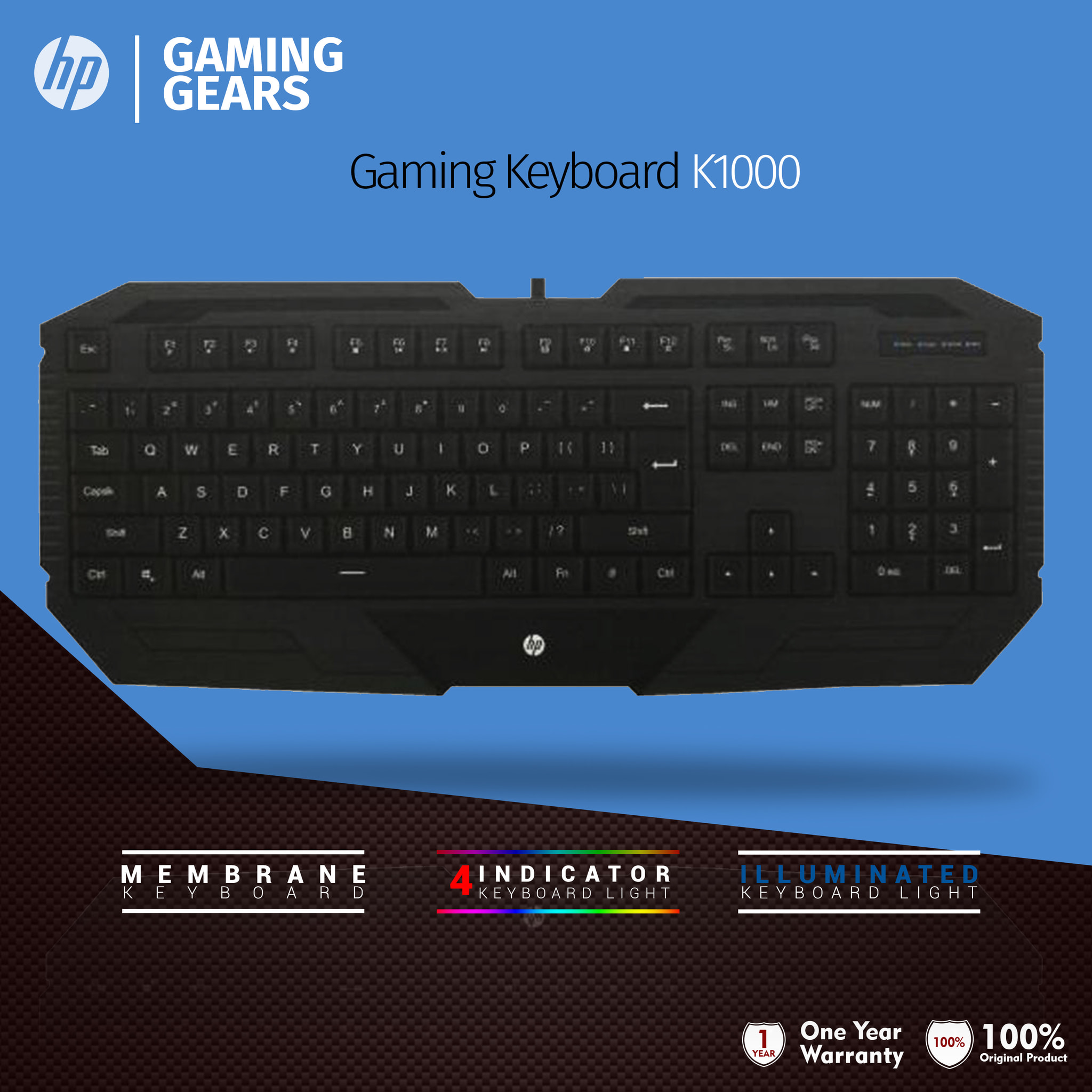 Jual Keyboard Gaming Hp K1000 Garansi Resmi Flashdisk Sandisk Cruzer Blade 16gb Usb Flash Drive Cz50