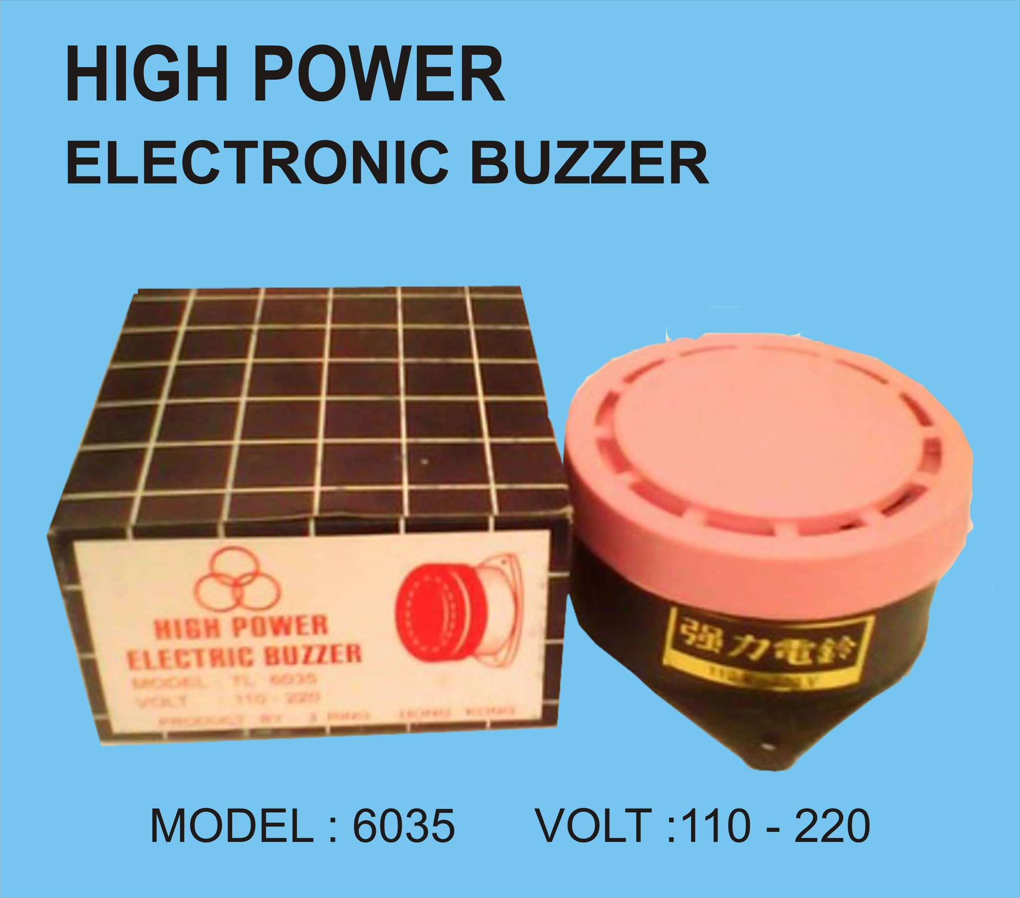 PANEL BUZER ( Bell Sekolah ) High Power Electric Buzzer - Blanja.com