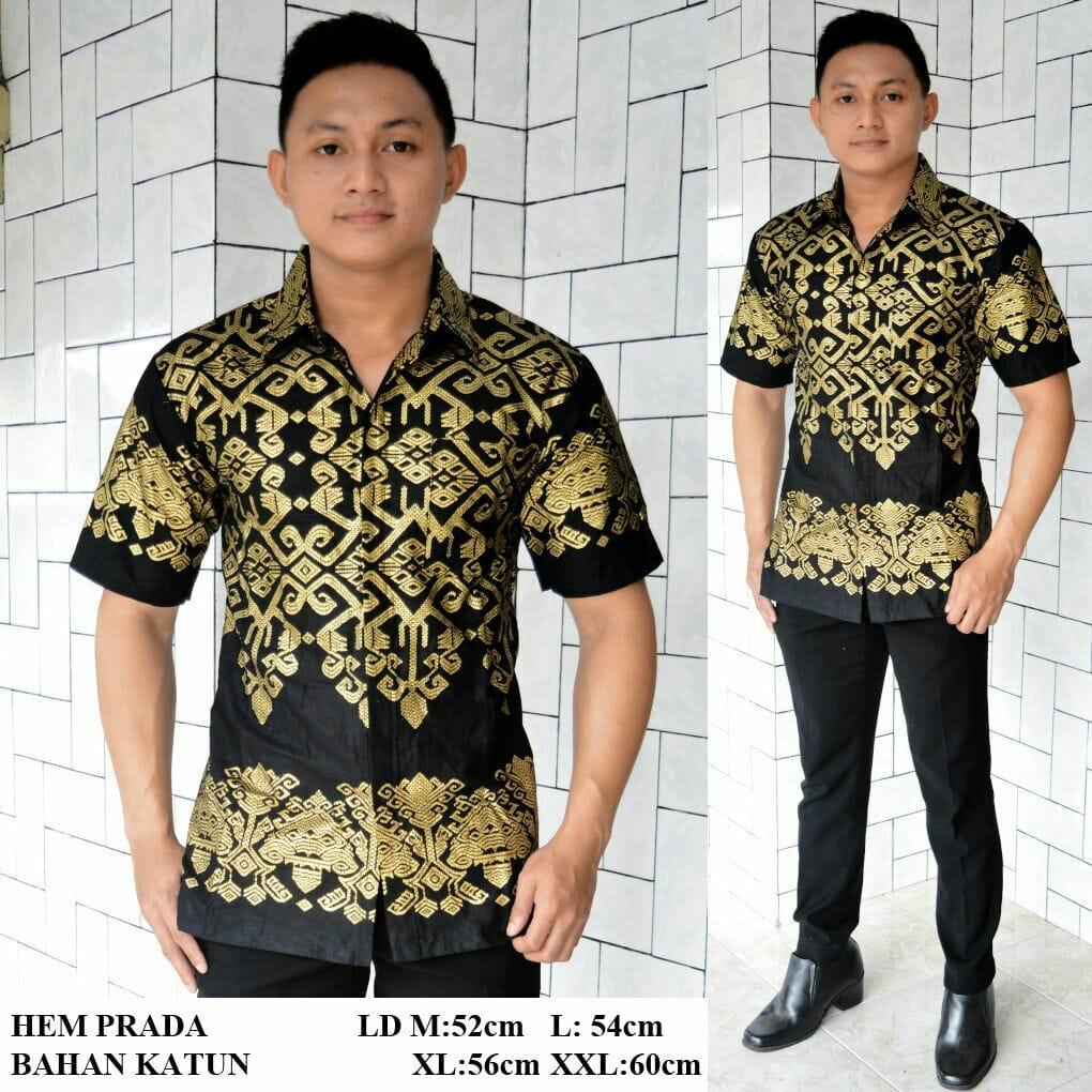 Hem Batik Prada Gold / Silver Exclusive