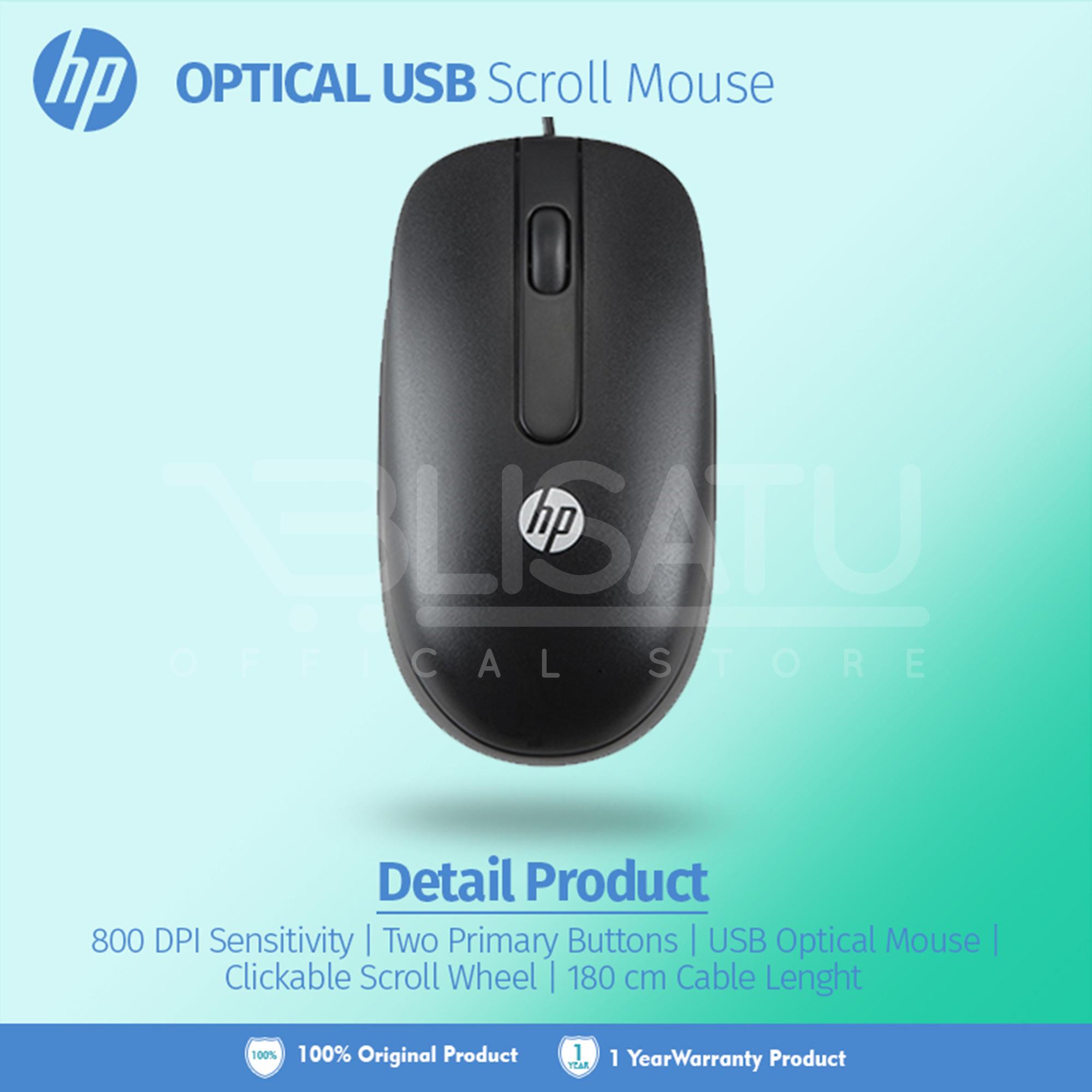 Mouse Usb Hp Original New