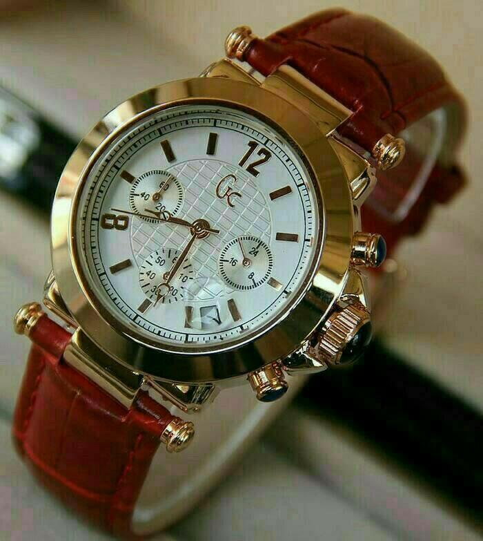 Jam tangan GC jam tangan wanita free baterai cadangan