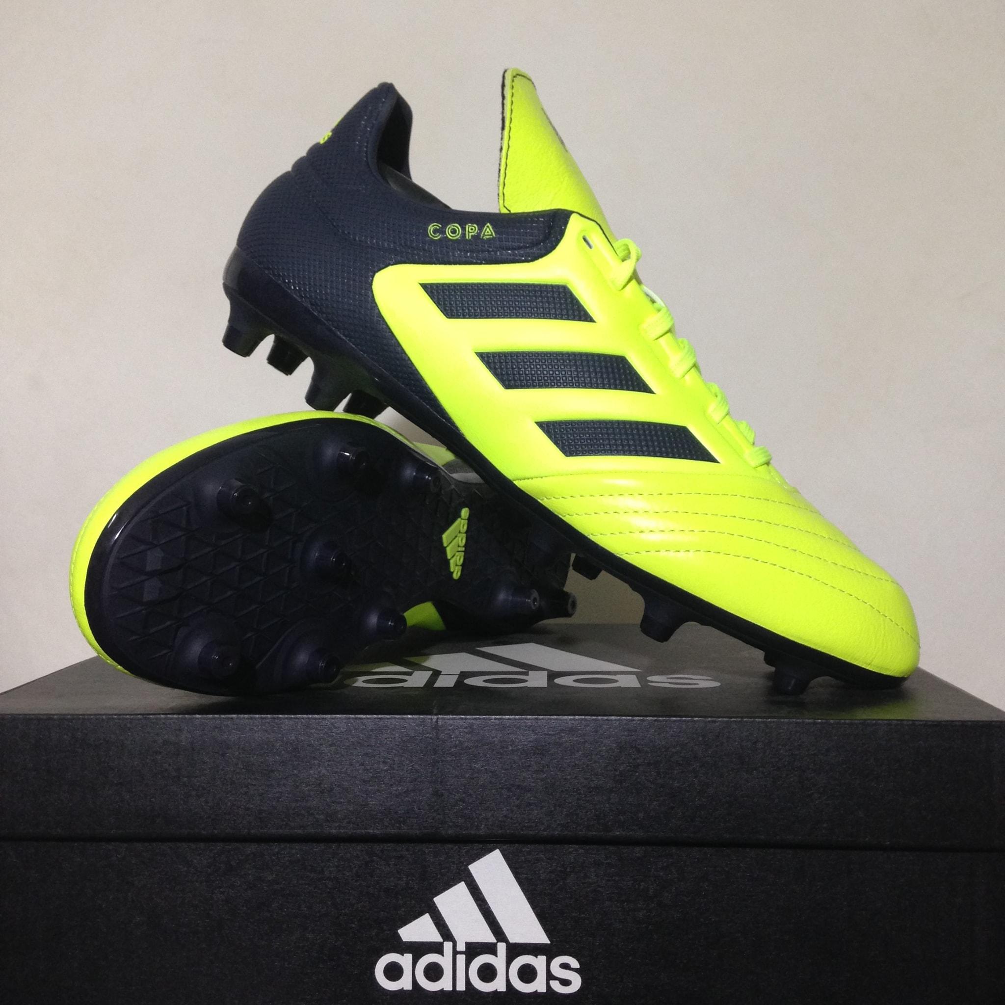 Jual Sepatu Bola Adidas Copa 17 3 Fg Solar Yellow Black S77143 f5e1dc41c3