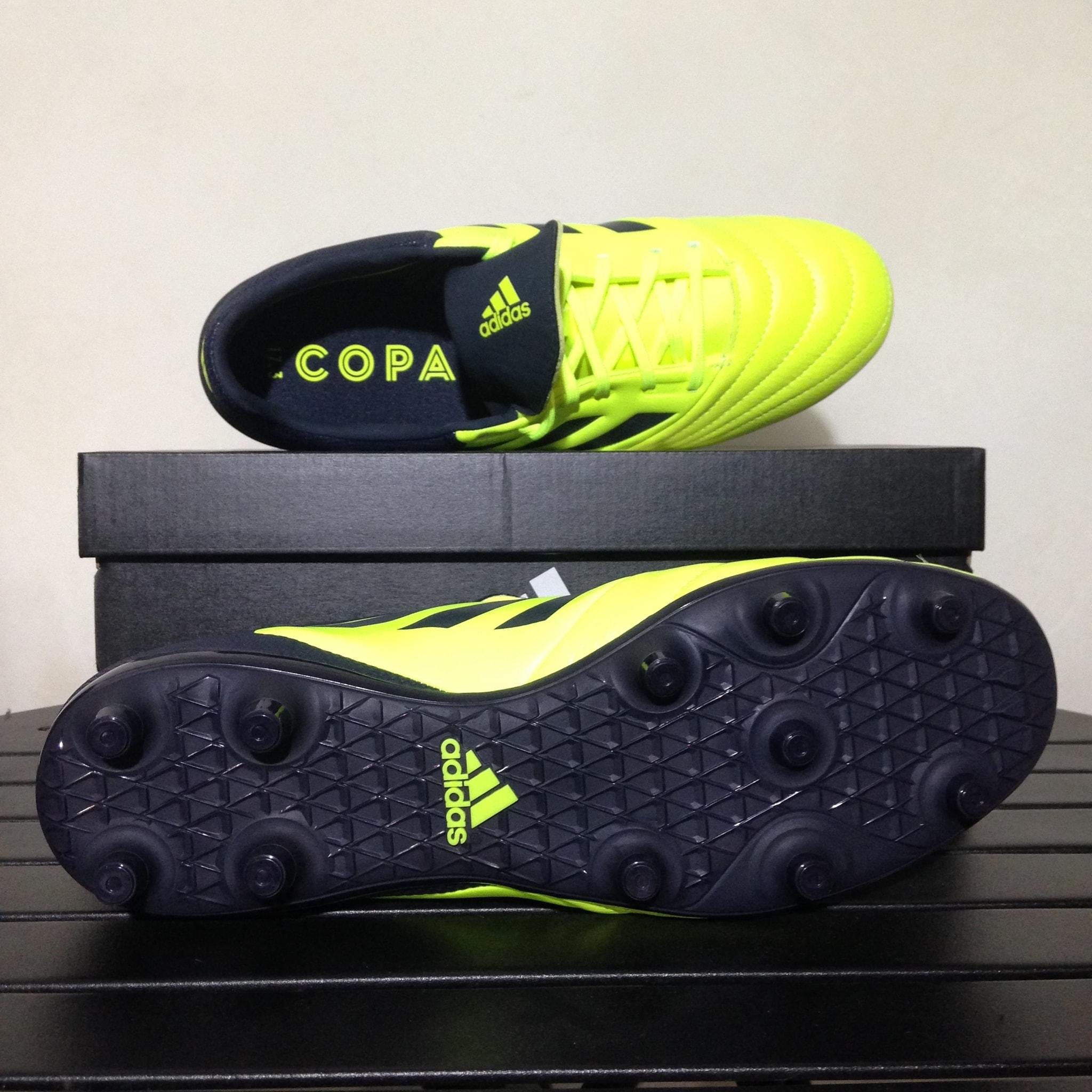 Jual Sepatu Bola Adidas Copa 173 Fg Solar Yellow Black S77143 Grade Ori Original