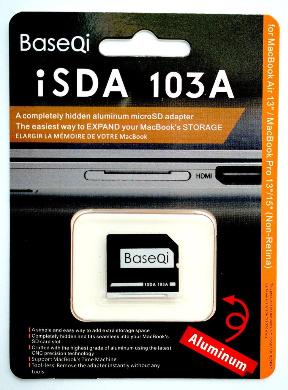 BASEQI 103A Micro SD Card Macbook Air 13
