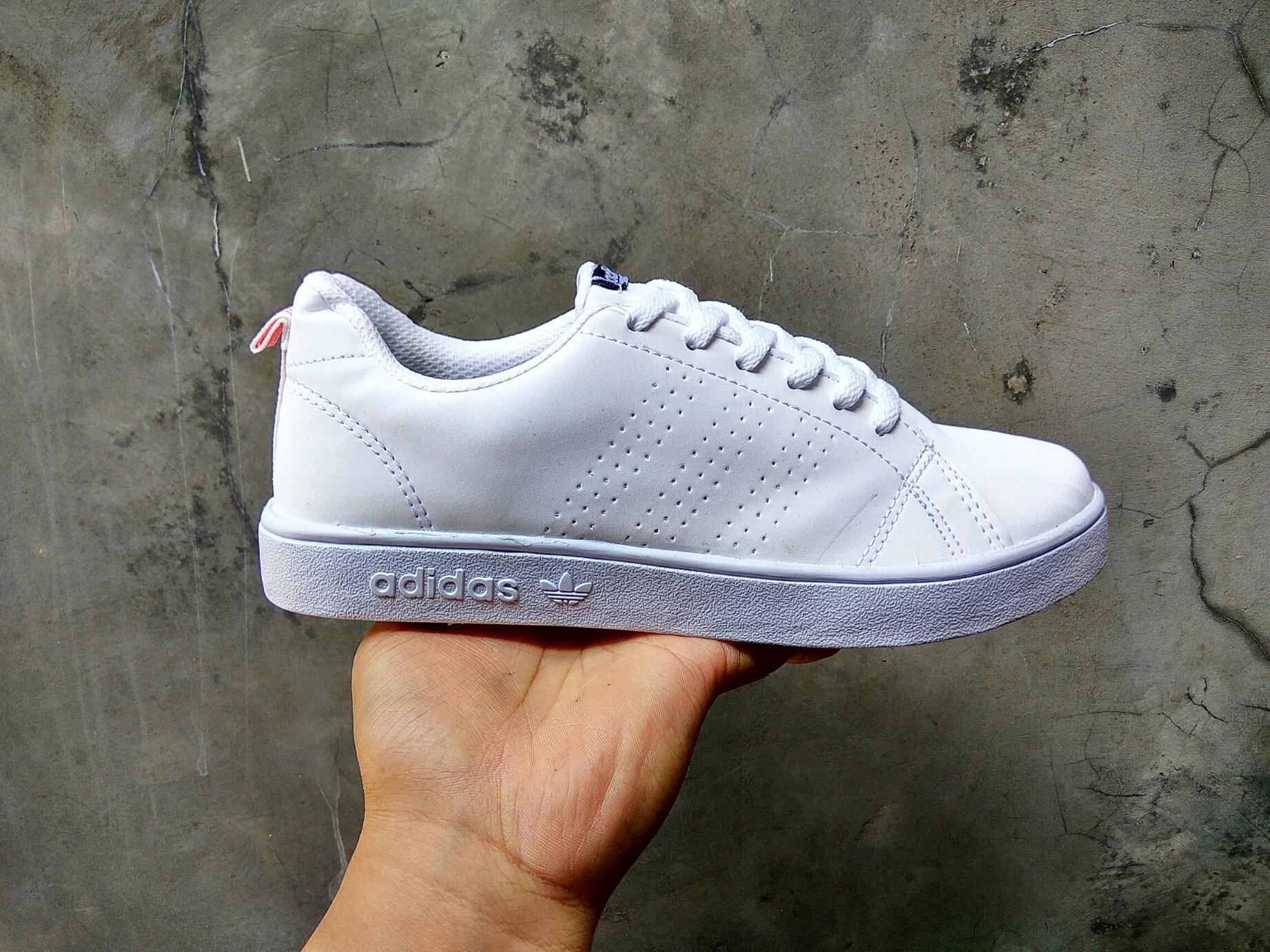 ... Sale Shoes C1f1  Sale  Sepatu Sneaker Putih Adidas Neo A Lokal Import  U4v8 - da893f0a4e