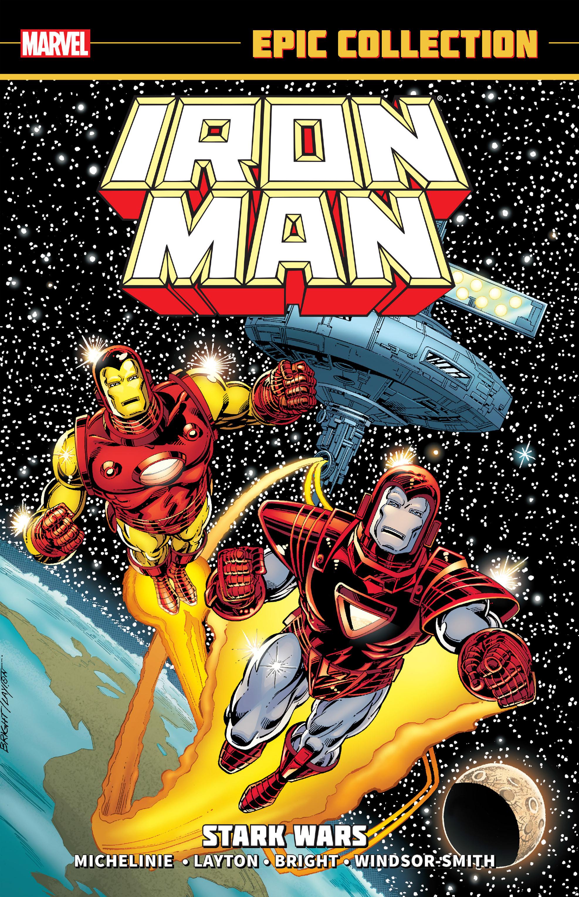 Jual Iron Man Epic Collection  Stark Wars (Marvel Graphic Novel ... 0d51cd014c