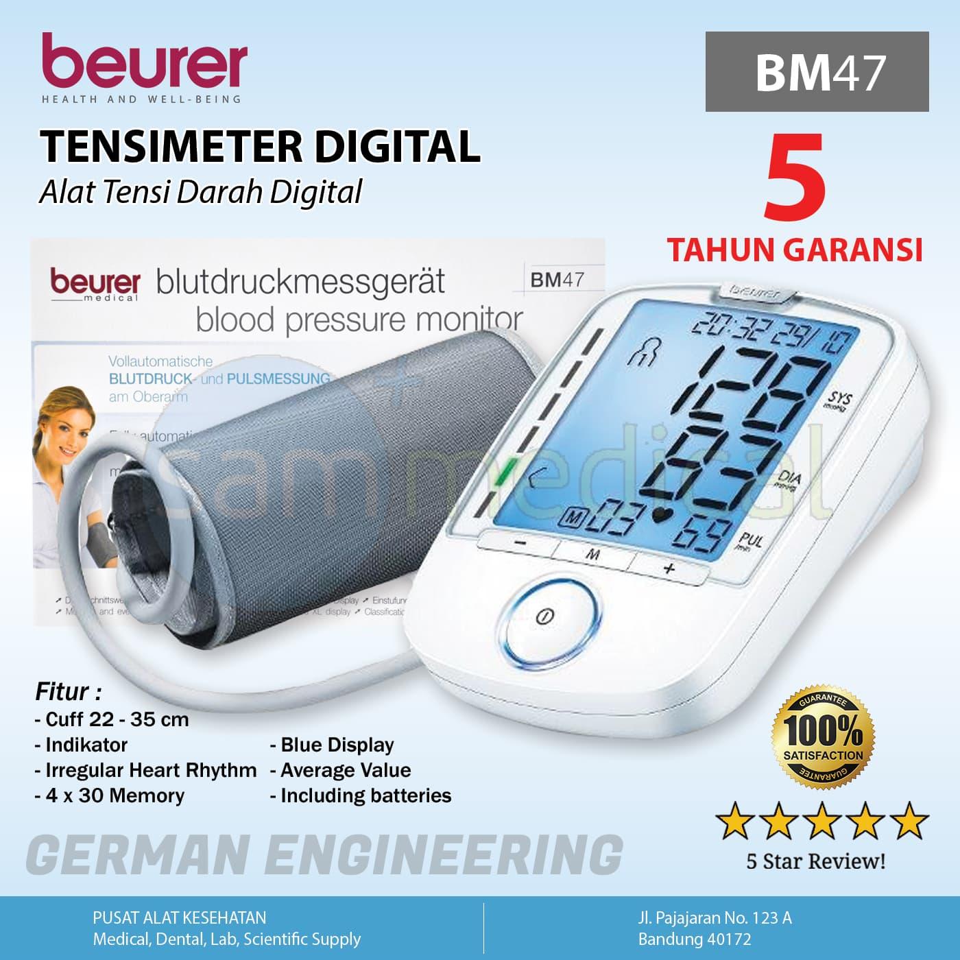 Beurer Bm47 Tensimeter Digital Daftar Harga Terkini Dan Terlengkap Tensi Meter Bc32 Jual Bm 47 Garansi 3 Thn Jerman Sam Medical Tokopedia