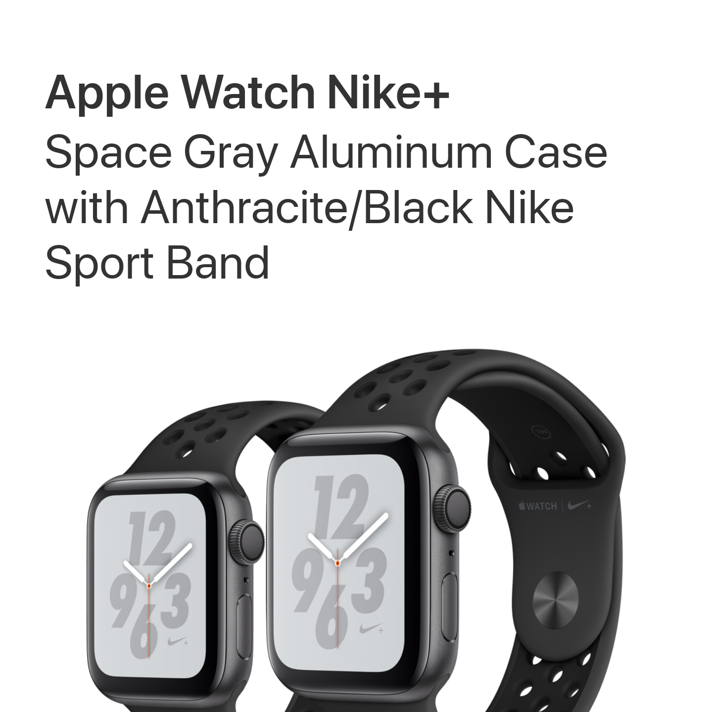 ... Apple Watch Series 4 Gps Nike+ 40mm White Platinum Black Bnib -  Blanja.com cff5f4b57d