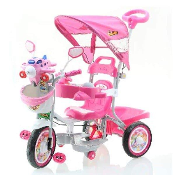 DISKON Sepeda Roda Tiga Anak Family F923PT Musik Dobel Aeroplane Melody   cccd83f6a8