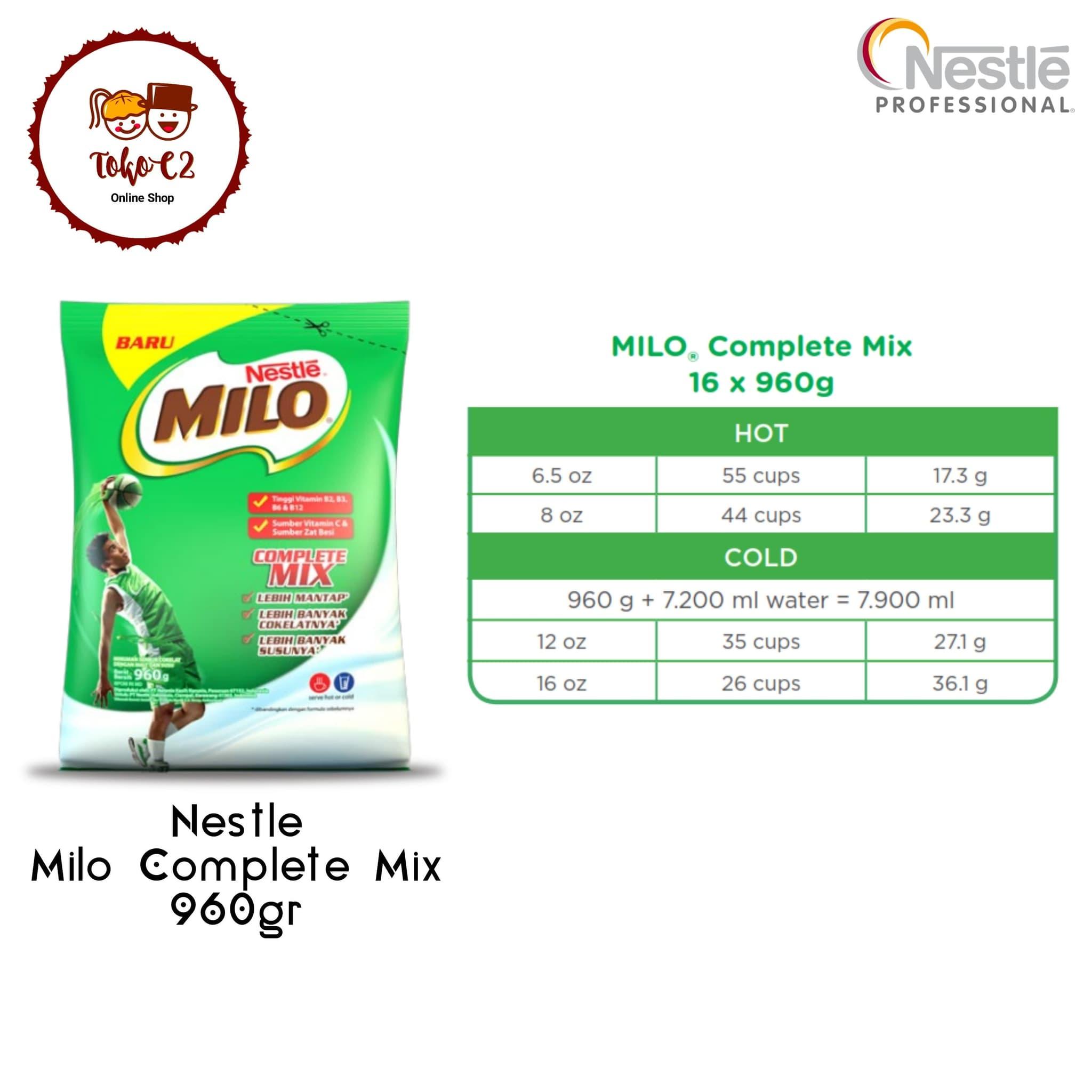 Nestle Milo Professional Complete Mix 960gr Daftar Harga Terbaru Nescafe Classic 120gram By Kualitas Hotel Resto Ampamp Cafe Jual Hot